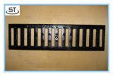 鋳鉄材料の長方形雨溝の格子