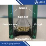 vidro isolado desobstruído de 6mm+16A+6mm Baixo-e