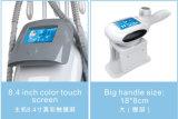 Carrocería de congelación gorda del vacío de Handpieces del único agente tres que forma adelgazando la máquina