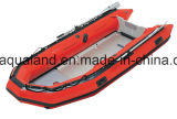 Спасательная лодка Aqualand 16feet 4.7m/Military Inflatable Boat/Hypalon Rubber Boat (aql-470)