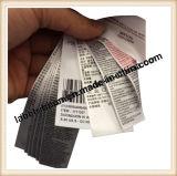 Тесемка 100% сатинировки полиэфира края Slited для печатание ярлыка (PS6200)