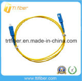 SC/PC-SC/PC Simplex Fiber Patch Cord 1m