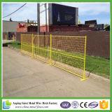 カナダのための6FTの粉の上塗を施してある一時塀