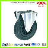 De Wielen van de gietmachine voor de Reeks van de Bak van het Huisvuil met Zwart Rubber (P101-31C150X40)