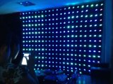 los 2*4m RGB LED Video Curtain con Video Effect