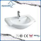 Halb-Vertiefte Badezimmer-keramische Schrank-Bassin-Handwaschende Wanne (ACB8255)
