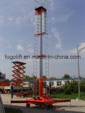 20 Meter kippbare elektrische teleskopische hydraulische Plattform-Aufzug-