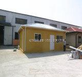 Casa pré-fabricada da parede de pouco peso da isolação da placa da espuma do cimento
