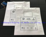 Saco da embalagem do Zipper da folha de alumínio