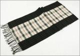 Зимы чывства кашемира женщин людей шарф печатание диаманта Unisex реверзибельной теплый проверенный толщиной связанный сплетенный (SP810)