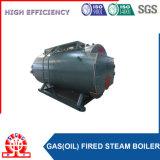 3개의 통행 천연 가스 및 디젤 엔진 발사된 증기 보일러