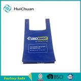 Sacchetto riciclabile non tessuto del sacchetto della maglietta dei pp bello