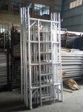 주문을 받아서 만들어지는 세륨 L1.25 x W2.5 알루미늄 비계 탑 사다리
