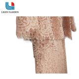 Vestido tecido elegante com laço