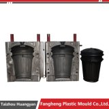 Пластичная мусорная корзина Trashcan впрыски поворачивает прессформу крышки крышки