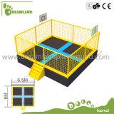 Parque de interior del trampolín del patio de múltiples funciones grande de los niños