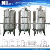 Filtro del carbón y de arena con el sistema de tratamiento de aguas del RO/la máquina