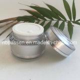 vaso crema acrilico d'argento 50g per l'imballaggio dell'estetica (PPC-NEW-148)