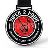 昇進のカスタムさまざまなデザイン金属メダルリボン柔らかいエナメルの記念するメダルメーカー