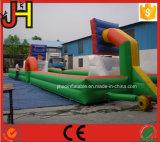 2 en 1 baloncesto y campo de fútbol inflables para la venta