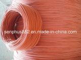 Fio flexível do aquecimento da borracha de silicone da alta qualidade