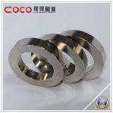 Nicuni van de Deklaag van het Neodymium van de Magneet van NdFeB van de Magneet van de Ring van het neodymium Magnetische