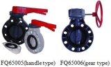 Valvola a farfalla del PVC di alta qualità (FQ65005)