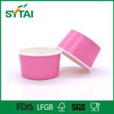 Kundenspezifisches WEGWERFPET überzogene Eiscreme-Papiercup-Filterglocke mit Frucht-Muster