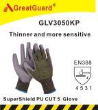El nitrilo de Greatguard Supershield cortó el guante 5 (ST3050N)