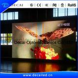 Signe mobile pointu polychrome de la publicité extérieure DEL du vidéo HD SMD P6