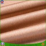 Tela ignífuga impermeable tejida materia textil casera de la cortina del apagón del poliester de la tela para la cortina de ventana