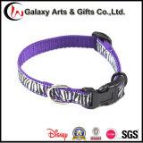 Beste verkaufenqualitätskundenspezifisches Polyester-purpurrote Hundehalsringe