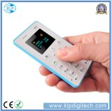カードの携帯電話5.5mmの超薄い小型の小型電話クォードバンド低価格