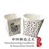 Bolsa de papel lavable para el bolso de tienda de comestibles del almacenaje