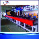 Vollautomatische Rollerbed Durchschnitt-Zeile Ausschnitt-Maschine für Metallrohr