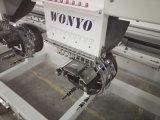 Cequi plano automatizado pista 2016 de la camiseta del casquillo de Wonyo 2 Cording sujetando con cinta adhesiva la máquina del bordado