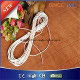 Couverture 100% électrique de polyester avec la protection de surchauffe pour la chaleur de bâti