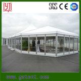 Grande tente en aluminium imperméable à l'eau d'usager de bâti avec le flanc en verre
