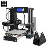 Rodillo industrial Fra de Anet A6 Prusa I3 DIY 3D de la impresora del filamento de acrílico lleno del kit 1