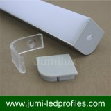 Profils d'extrusion d'éclairage de DEL pour la lumière de bande de DEL