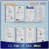 4 de Montages en Ce-GS-citizens band-RoHS van de hitte keurden de Blauwe Elektrisch deken van de Polyester goed