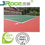 Surface extérieure acrylique résistante de sport d'enduit de terrain de basket de brouillon