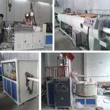 Plastik12-63mm Belüftung-Rohr-Strangpresßling-Zeile Extruder (SJSZ)