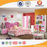 Princesa colorida Kids Children Bed (UL-HE602) de los mejores de la venta del precio competitivo muebles del dormitorio