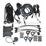 Sensor de estacionamento de caminhões pesados com zumbador e 4 sensores (LS-CVPS-b8-)