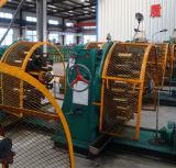 Máquina de borracha horizontal da trança do fio de aço da mangueira