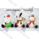Decoración de la Media-Navidad de los alces del muñeco de nieve de Santa