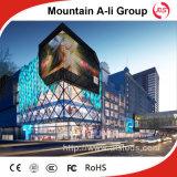 Affichage à LED de publicité polychrome extérieur de la vente P8 SMD de la Chine
