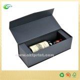 Коробки вина высокого качества упаковывая, коробка подарка вина картона (CKT-PB-103)