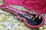 Guitare de Peter Frampton de noir de type de la coutume 3pickups Lp de G
